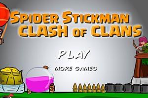 Spider Stickman: Clash of Clans